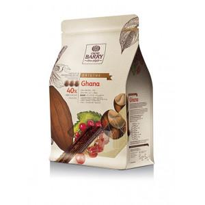 Chocolat au Lait Origine Ghana 40% 2,5 kg Barry