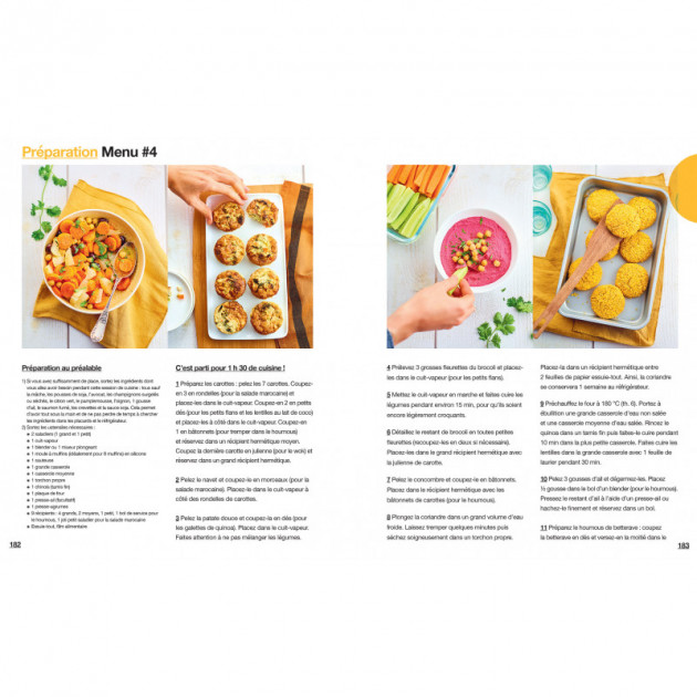 recette light legumes houmous. carottes. navets