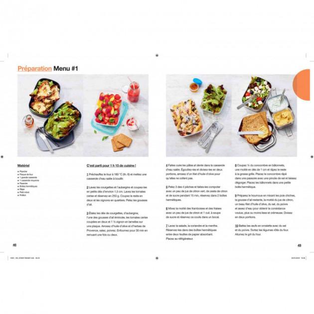 Preparation de recettes lunch box