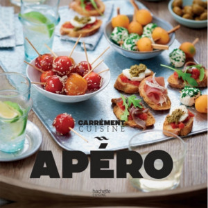 Livre de recettes Apéro 100 recettes à partager, Hachette