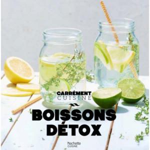 Livre de 100 recettes Boissons Detox Hachette