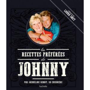 Livre Les recettes préférées de Johnny, Hachette