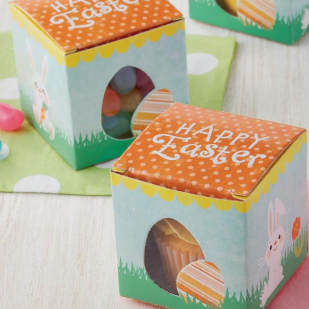 Boîte a Cupcake Paques 5 cm (x10) Wilton