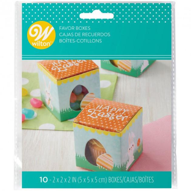 Packaging du Lot de Boîtes de Paques Wilton