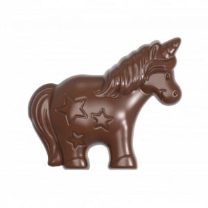 Moule Chocolat Licorne 80 mm (x4) Chocolate World