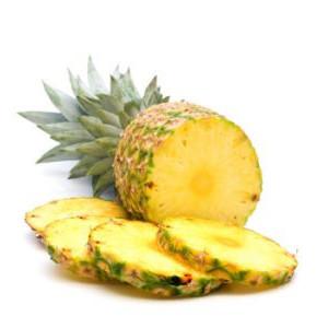 Ananas en tranches au Sirop léger 3/4