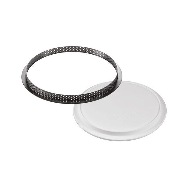 Un moule silicone 1 empreinte et 1 cercle perfore