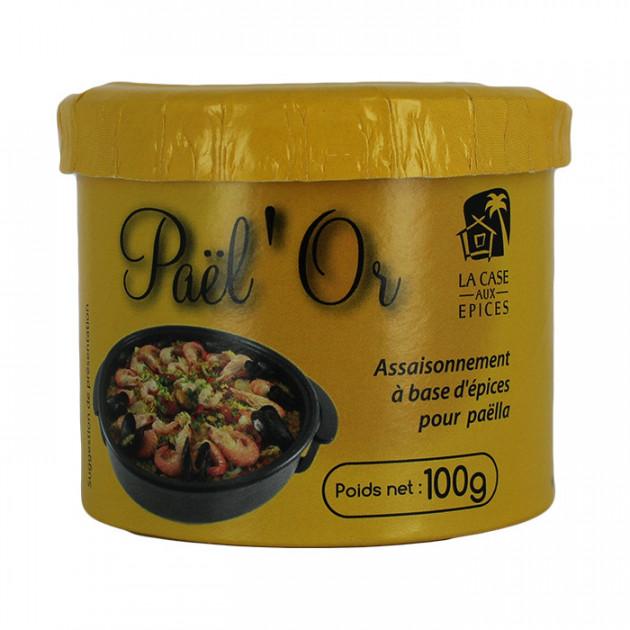 Melange d'epices pour paella Pael'Or 100 g La Case Aux epices
