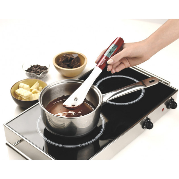 Spatule Thermometre Chocolat Youcook