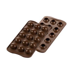 Moule à Chocolat 15 Truffes Easy Choc - Silicone Spécial Chocolat