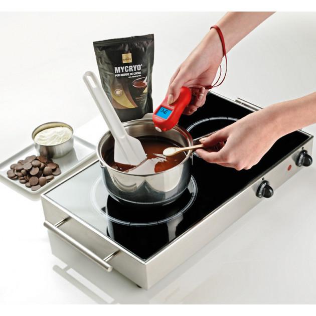 Thermometre Infrarouge - utilisation preparation du chocolat