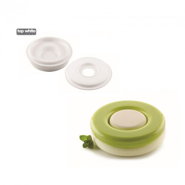 Moule Silicone 6 Moules Game Ø65 x h40 mm 120ml SilikoMart Professional