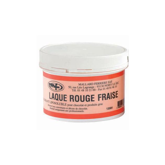 Colorant alimentaire Rouge Fraise E129 Poudre Liposoluble 60g