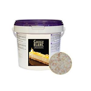 Croustillant Chocolat Blanc 1kg Unipâtis