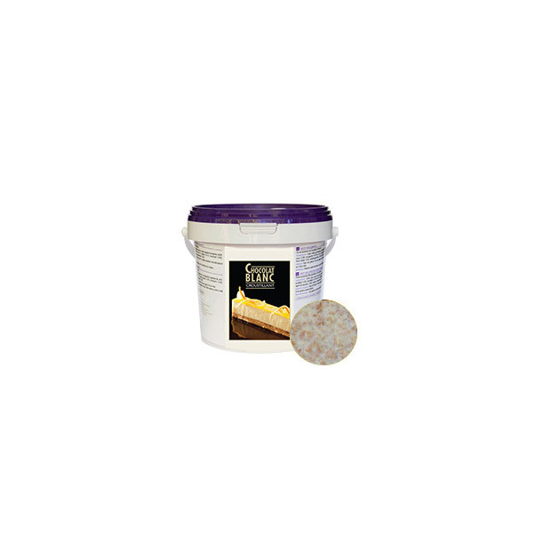 Croustillant Chocolat Blanc 1kg Unipatis