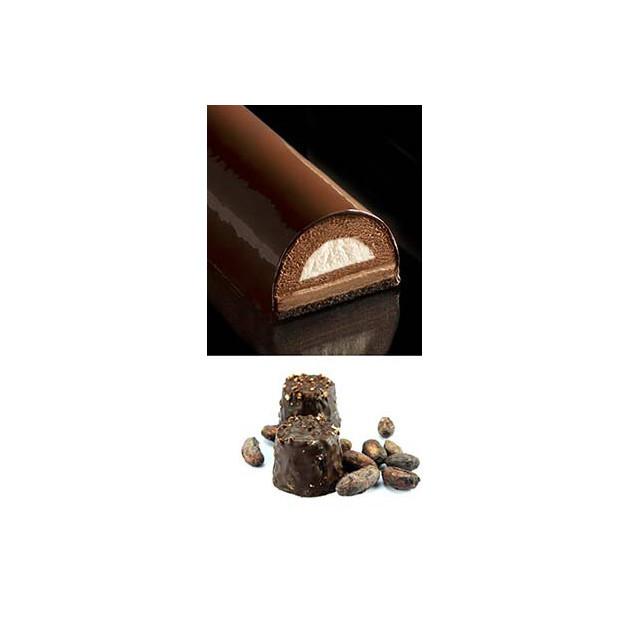 Croustillant Blanc Chocolat pour insert