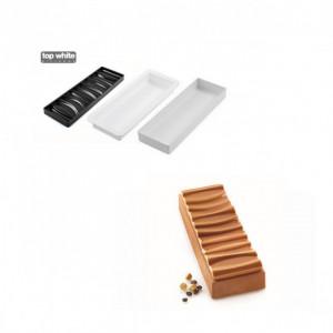 Moule Silicone Sahara 300 x 100 x H36 mm Silikomart