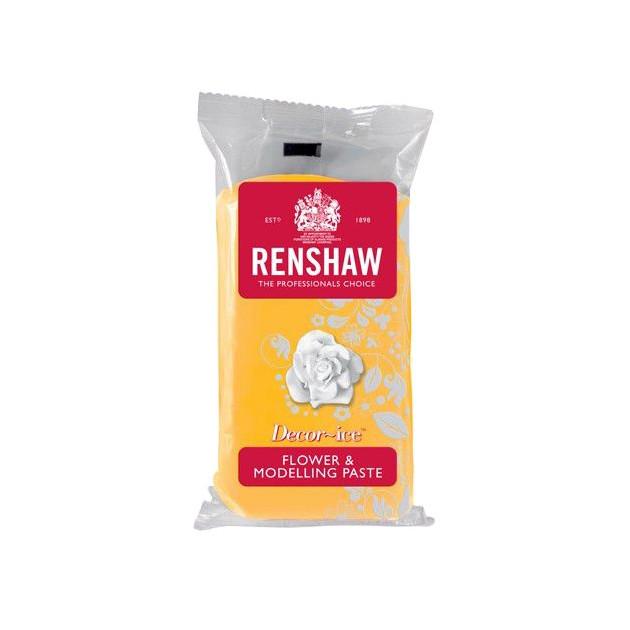 Gum Paste Renshaw Jaune Jonquille 250g