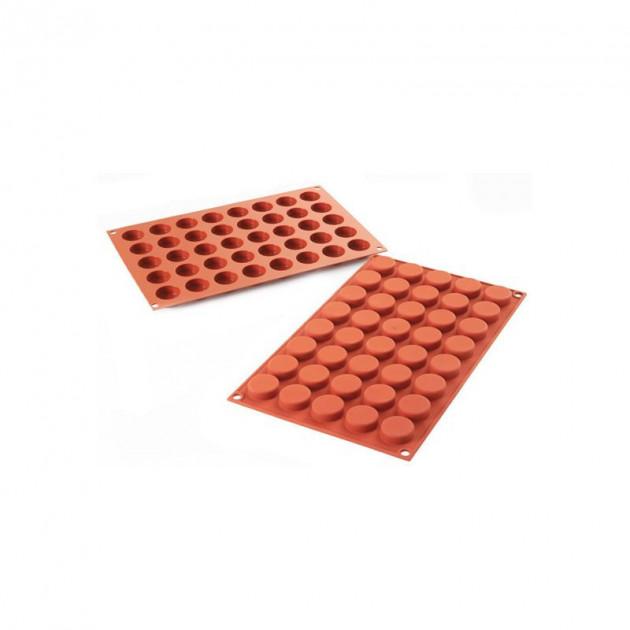 Moule 40 Petits Cercles en silicone