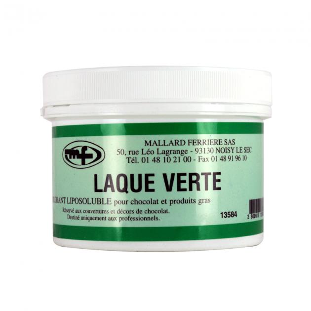Colorant alimentaire Vert E102/E142 Poudre Liposoluble 60g