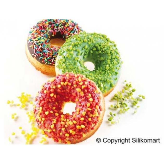 Moule Silikomart 6 donuts