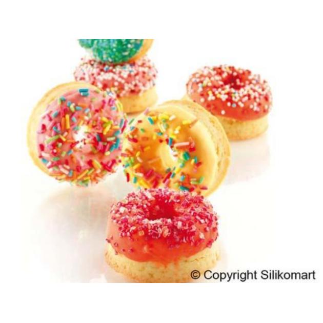 Moule en silicone donuts