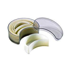 Emporte Pièce Croissant Uni Polyglass (x7)