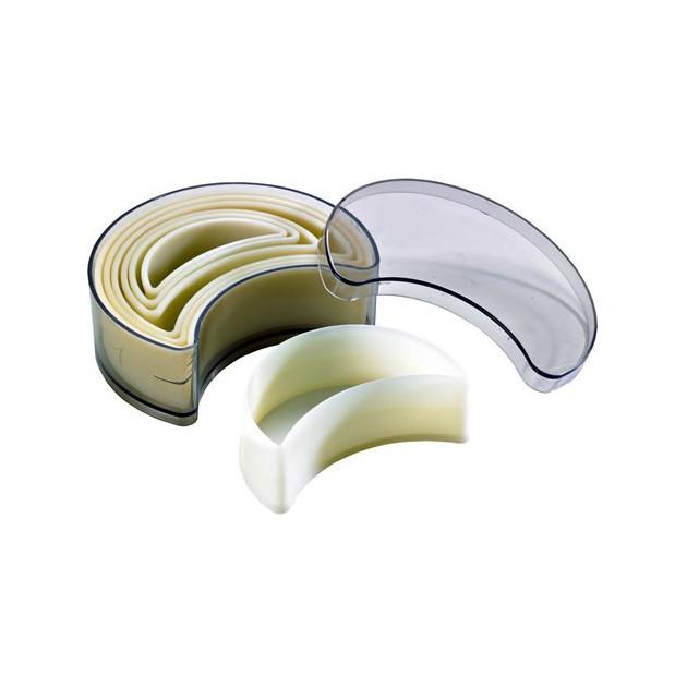 Emporte Piece Croissant Uni Polyglass (x7)