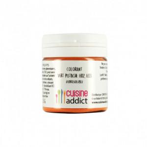 Colorant alimentaire Vert Pistache E102/E133 Poudre Hydrosoluble 25 g Cuisineaddict
