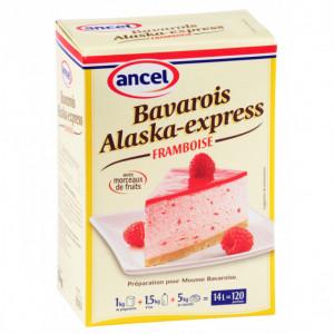 Préparation bavarois Alaska-Express Framboise 1 kg