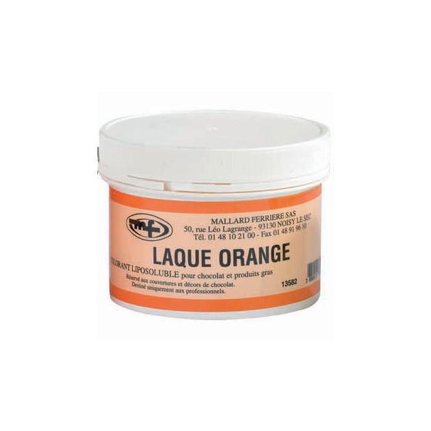 Colorant alimentaire Orange E110 Poudre Liposoluble 60g