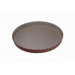Tourtière Cannelée Anti-adhésif 28 cm x H 2,5 cm Gobel