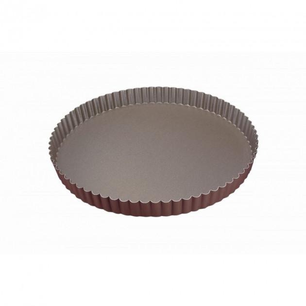 Tourtiere Cannelee Anti-adhesif 30 cm x H 2.5 cm Gobel