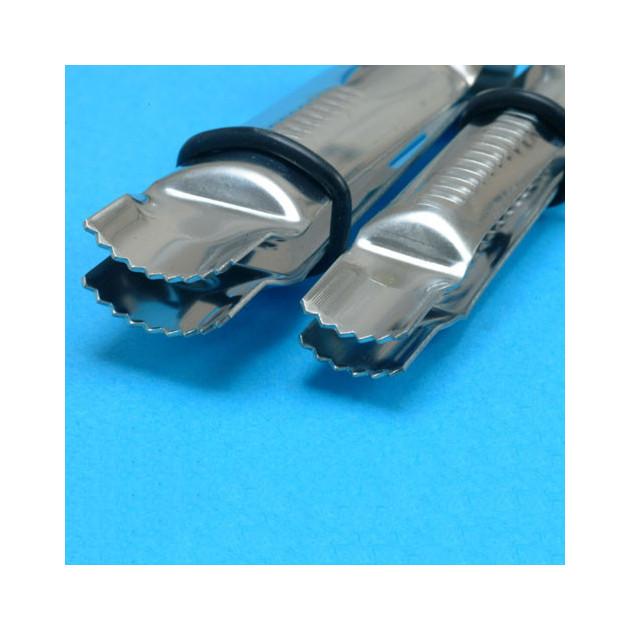 Pince a Gaufrer Arrondies Dentelees (x2)