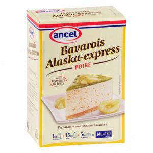 Préparation bavarois Alaska-Express Poire 1 kg