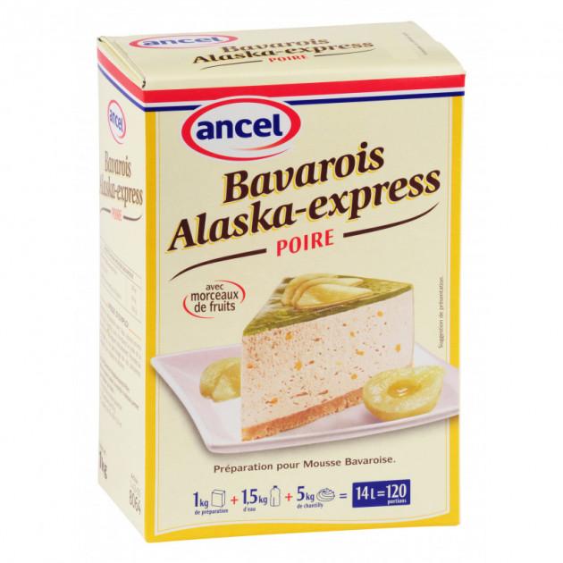 Preparation bavarois Alaska-Express Poire 1 Ancel