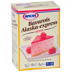 Préparation bavarois Alaska-Express Fraise 1 kg