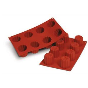 Moule Silicone 8 Cannelés 5,5 cm x H 5,5 cm Silikomart