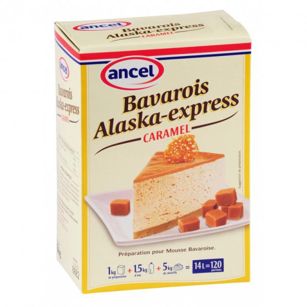 Preparation bavarois Alaska-Express Caramel 1 kg Ancel