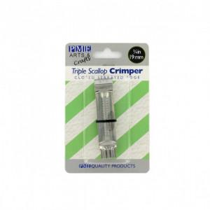 Pince à Gaufrer Triple Ondulation Dentelée 19 mm (x1) PME