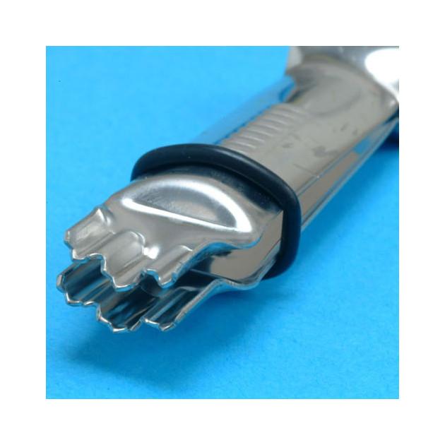 Pince a Gaufrer Triple Ondulation Dentelee
