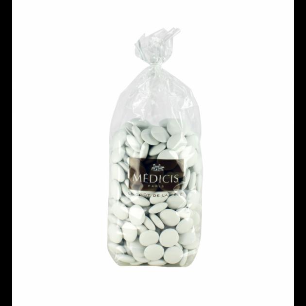 Dragees Palet Chocolat Blanc 1kg Medicis