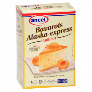 Préparation bavarois Alaska-Express Abricot 1 kg