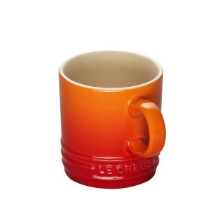 Tasse Cappuccino Volcanique (orange) 20 cl Le Creuset