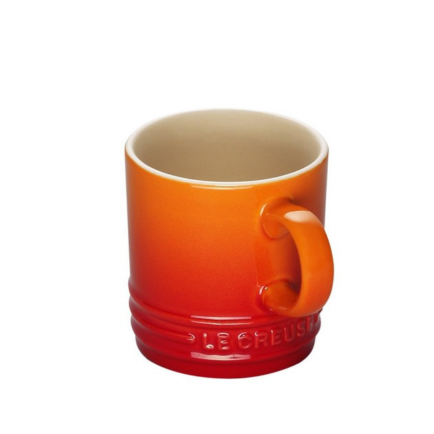 Tasse Cappuccino Volcanique (orange) 20 cl Le Creuset