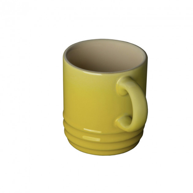 Tasse Cappuccino Soleil (jaune) 20 cl Le Creuset