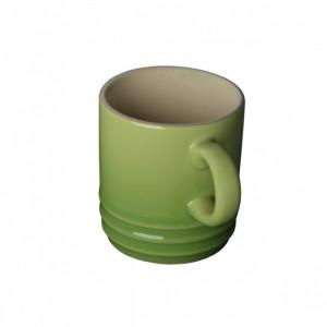 FIN DE SERIE Tasse Cappuccino Palm (vert) 20 cl Le Creuset
