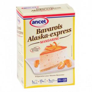 Préparation bavarois Alaska-Express Mandarine 1 kg