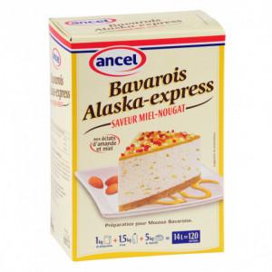 Préparation bavarois Miel Nougat 1 kg Alaska-Express