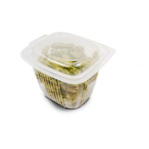 Boîte Plastique avec Couvercle 750 ml 14,2 x 12,3 cm x H 10,5 cm (x50) Ondipack